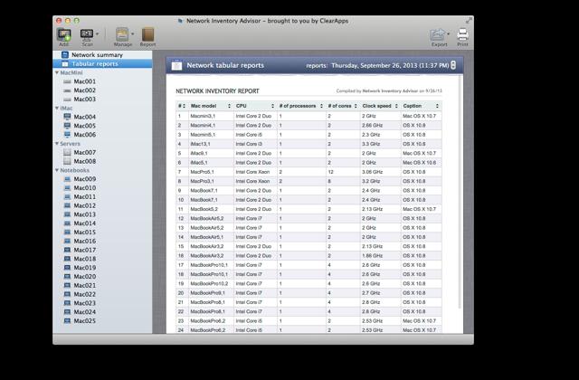 Asset inventory solution for mac network inventory advisor custom nodes inventory malvernweather Choice Image